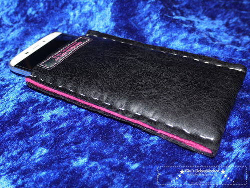 Leather case for 5 inch mobile phones