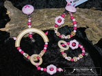 Pacifier chain, gripper, playclip 3 tlg