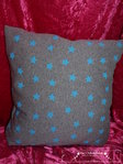 Gisis soft pillow blue