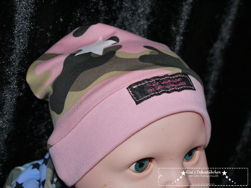 Iconic Camouflage Beanie Hat all sizes
