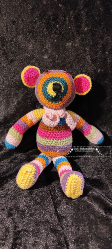Teddy bear crocheted toy gifts