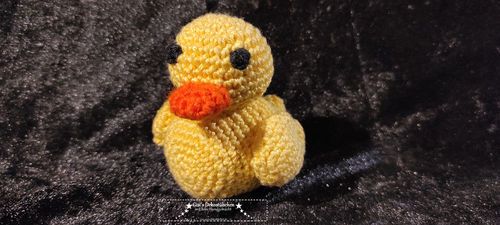 Ducky the duckling crochet duck animal for baby